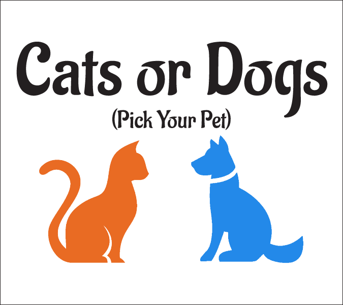 Cats or Dogs Card Game