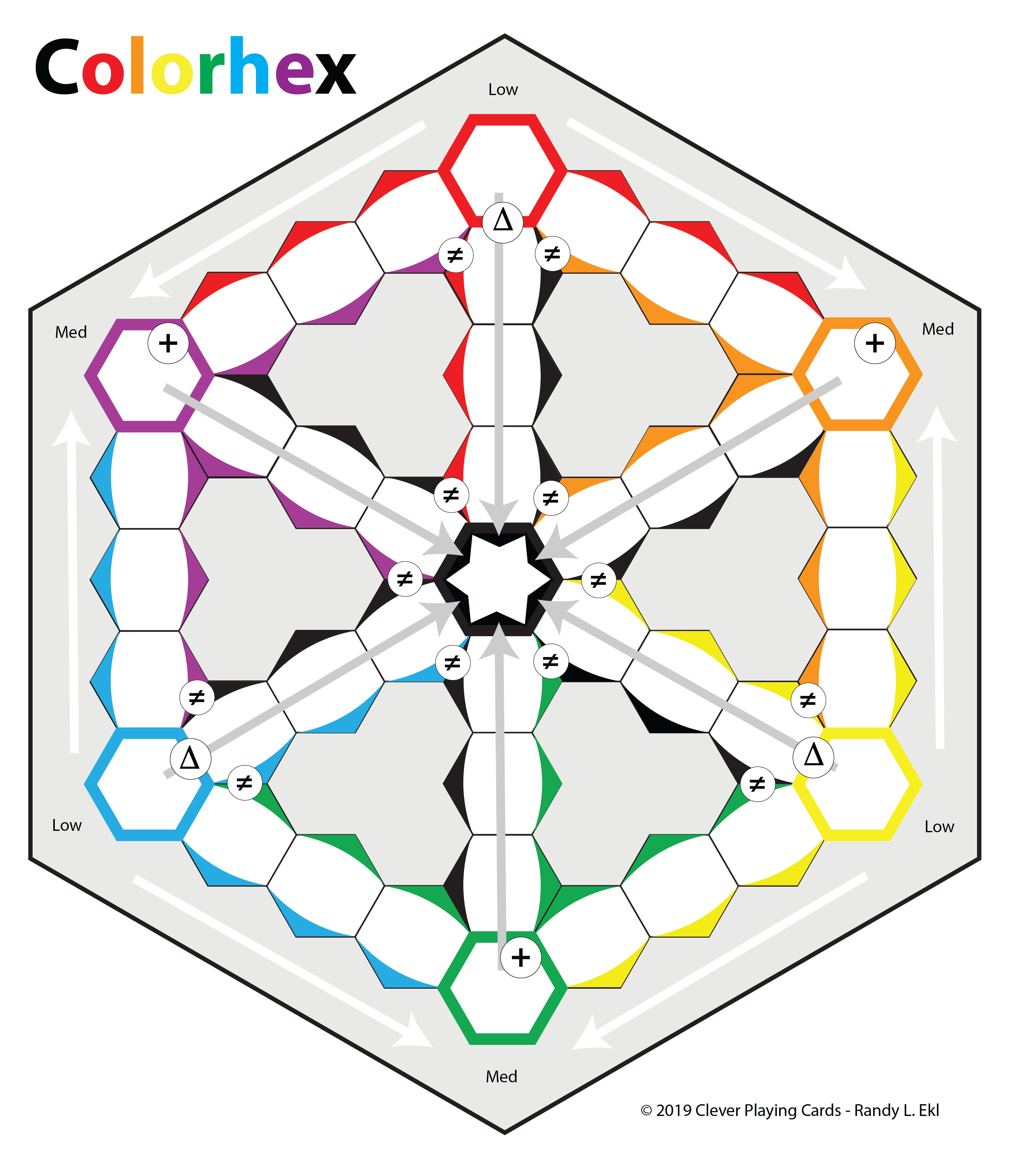 Color Hex Dice Game